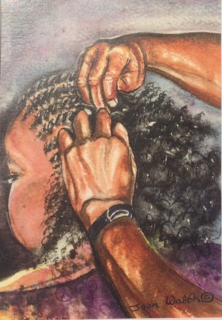 BRAIDING HANDS © Joan Walsh